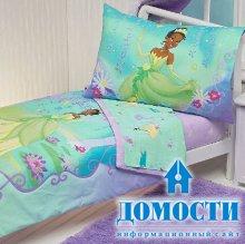 Постель для маленькой принцессы