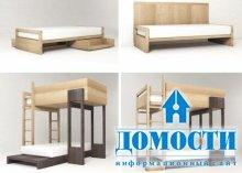 Модульная кровать-трансформер
