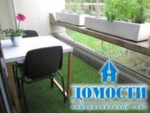 Мягкий пол для балкона