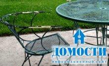 Обновление садовой мебели