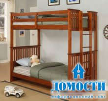 Безопасные кровати для детей