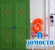 Самодельный детский шкаф