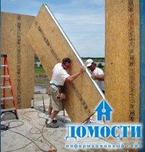 Строительство дома из панелей