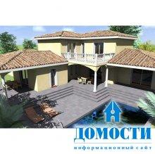 Средиземноморский загородный дом