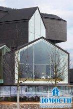 Дом с разносторонним фасадом