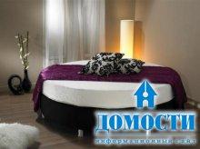 Особенности использования круглой кровати