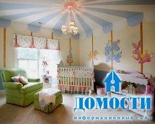 Тематические потолки в детской
