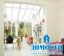 Прозрачный материал внутри дома