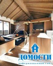 Дом, окутанный теплом дерева