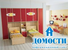 Красочные подростковые спальни