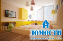 Красочные спальни для девушек