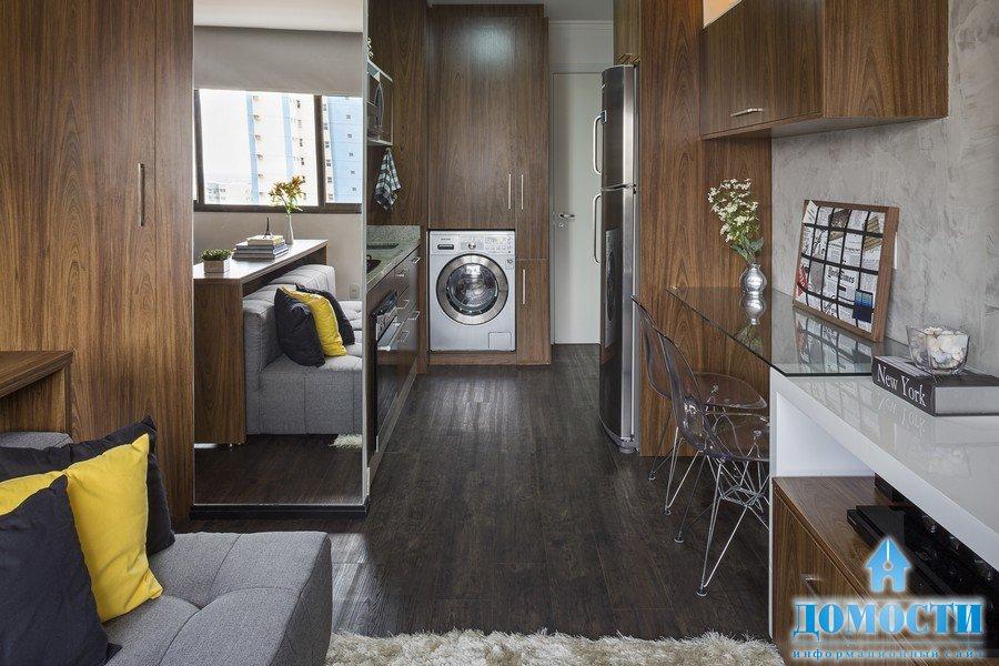 Дизайн маленьких апартаментов 30 кв