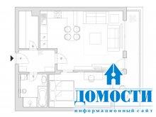Интерьер от словацкого дизайнера
