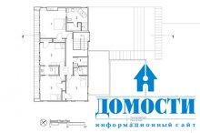 Дом из деревянных кубов