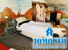 Спальни в автомобильной тематике