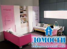 Розовые подростковые спальни
