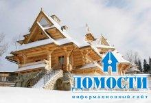 Сказочный бревенчатый дом