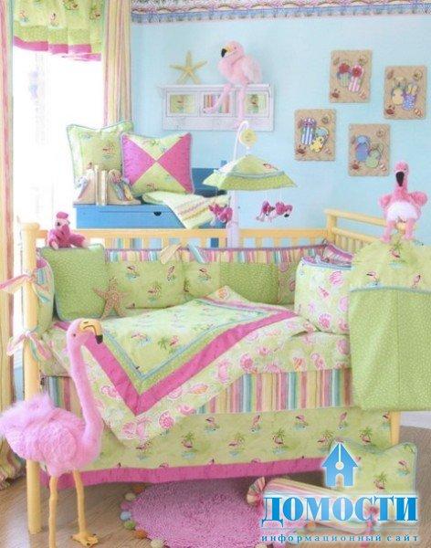 Смотреть интерьер детской комнаты