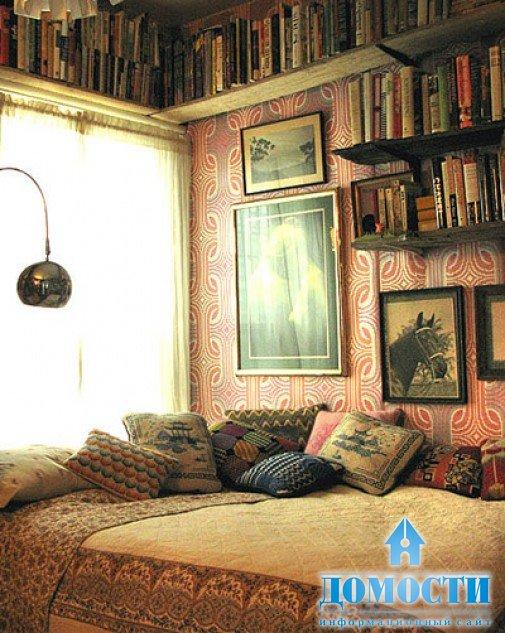 Маленькая уютная спальня фото