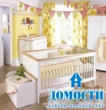 Актуальные цвета детских спален