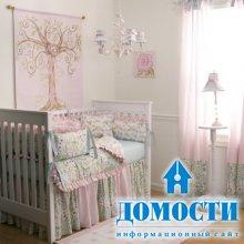 Спальня для новорожденной