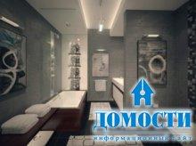 Ванные комнаты серого цвета