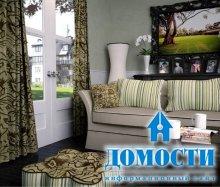 Гармоничные шторы для гостиных