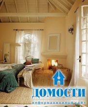 Деревенский интерьер гостевого дома