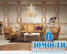 Интерьеры барочных гостиных