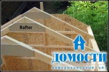 Крыша для деревянного дома