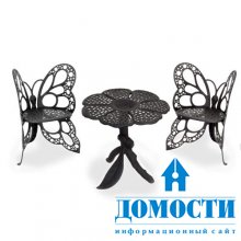 Компактная кованая мебель