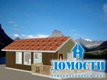 Компактные дачные дома