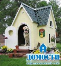 Элегантные собачьи будки