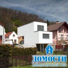 Архитектура дома на узком участке