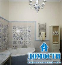 Интерьер компактных ванных