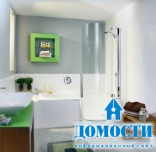 Красивый дизайн крошечных ванных