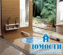 Красивые ванные для отдыха