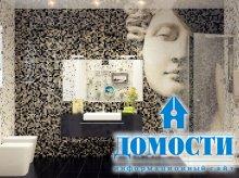 Мозаичная отделка ванных