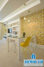 Оригинальный дизайн крошечной квартиры