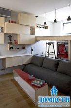Крошечная квартира в Париже