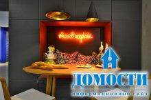 Эксцентричная кухня-столовая