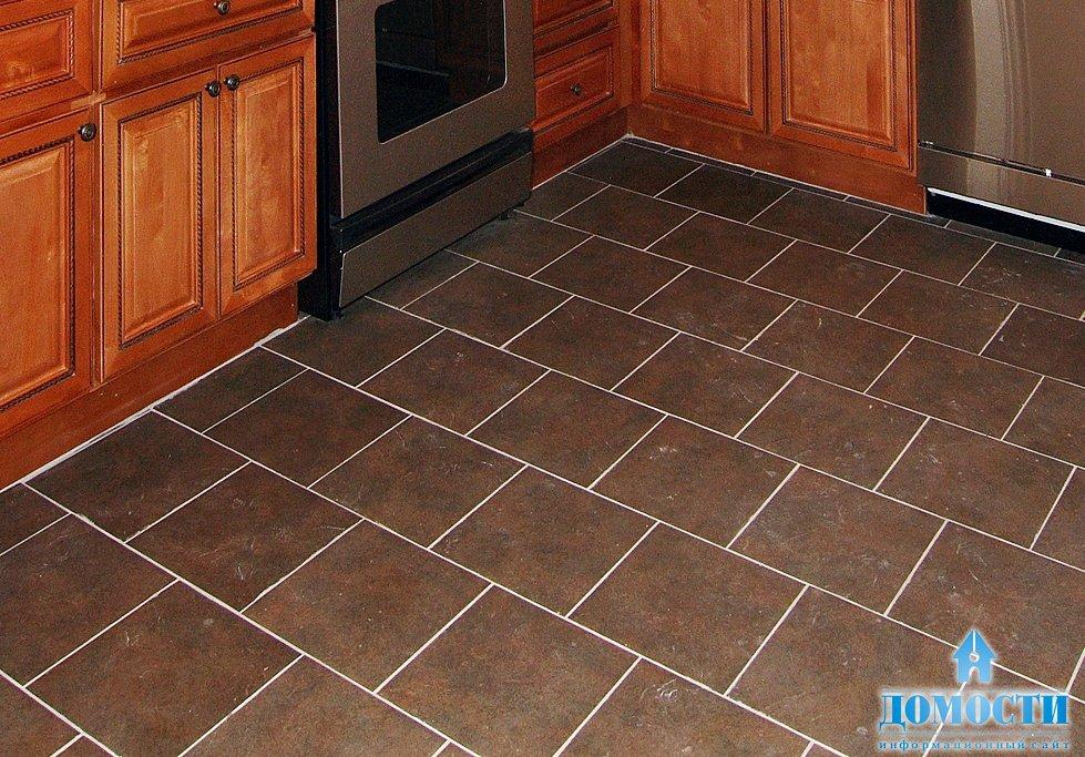 Ceramic kitchen tiles floor