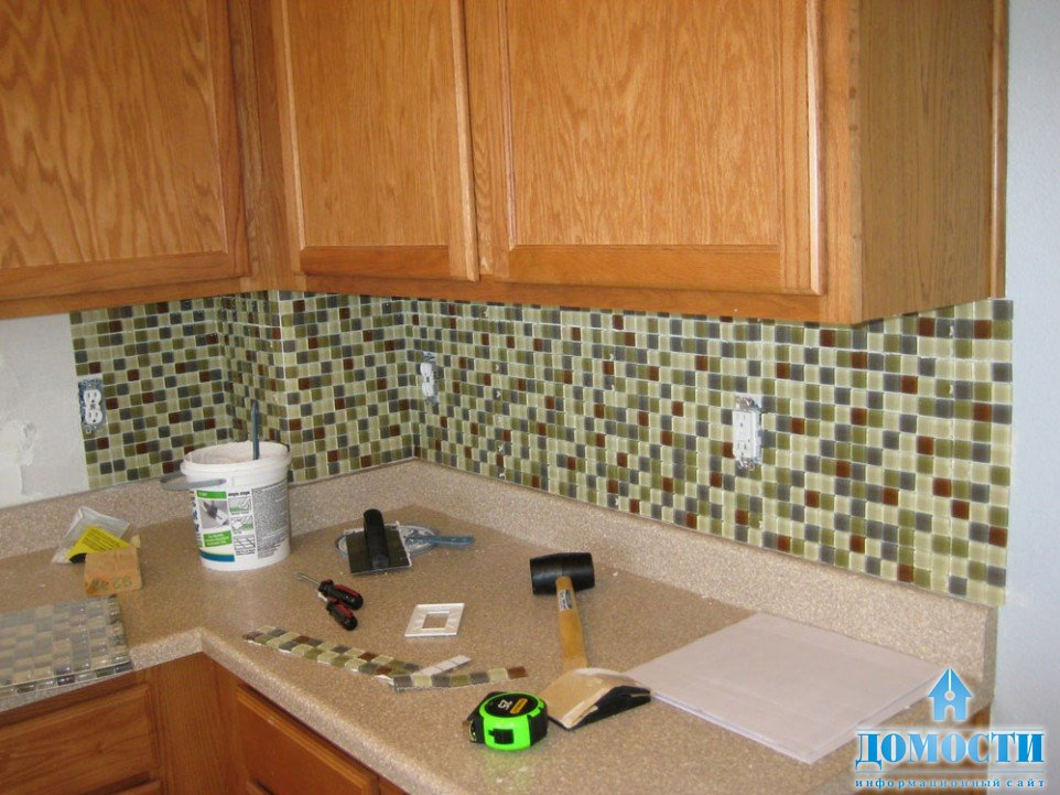 Diy tile kitchen backsplash