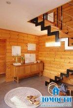 Испанский дом из финского дерева