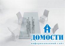 Стеклянный стол: за и против
