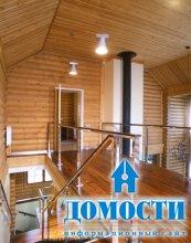 Потрясающий бревенчатый дом