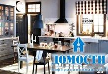 Кухни из мебели IKEA