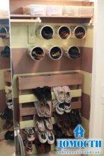 Креативные полки для обуви