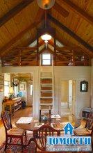 Компактный дачный дом