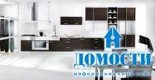 Лаконичные черно-белые кухни